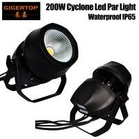 Gigertop 200 Вт Холодный теплый белый цвет светодиодный проектор водонепроницаемый Рождественское украшение пейзаж этап Освещение вечерние Y мя