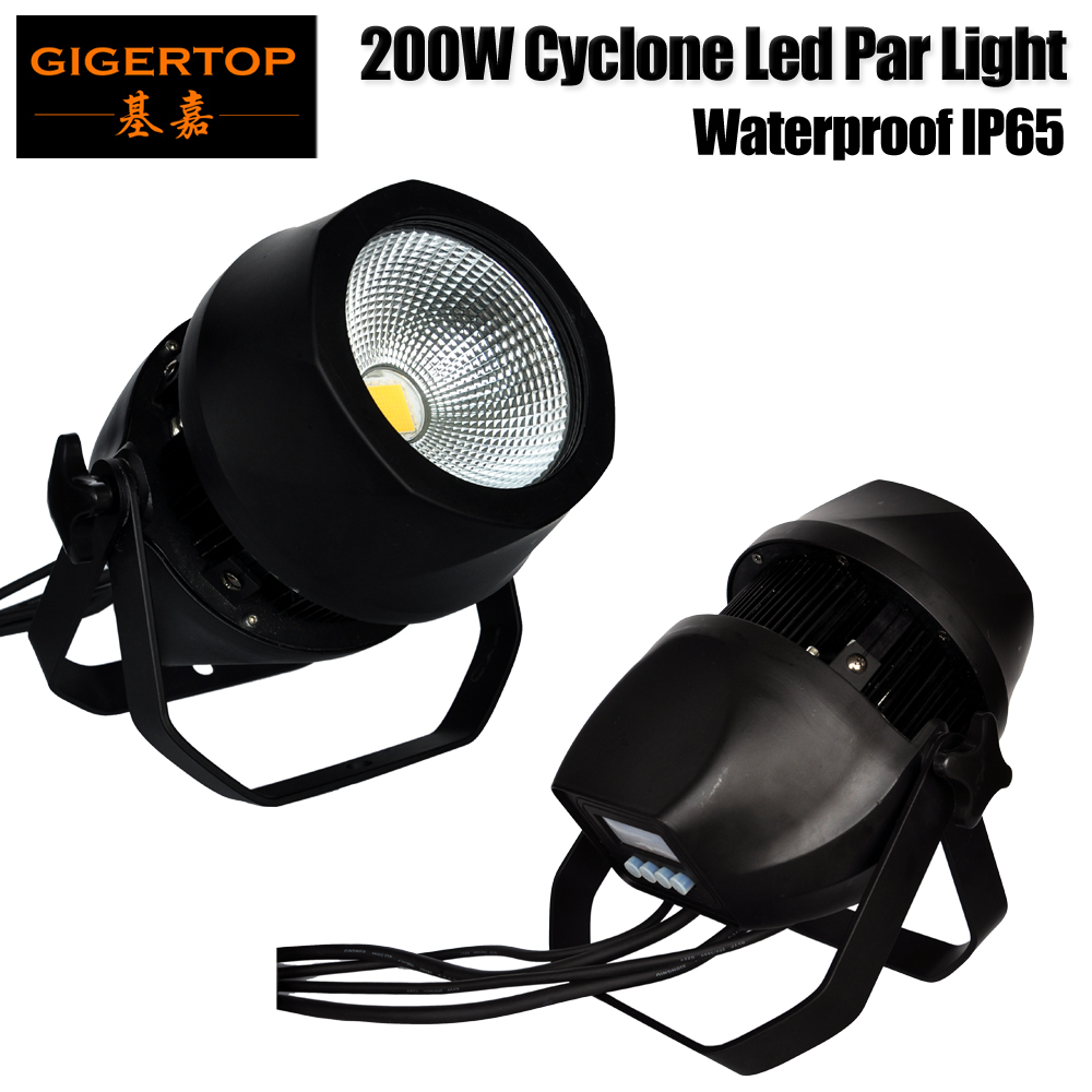 Gigertop 200W Cool Warm White Color Led Projector Waterproof Christmas Decoration Landscape Stage Lighting Garden Party Ball