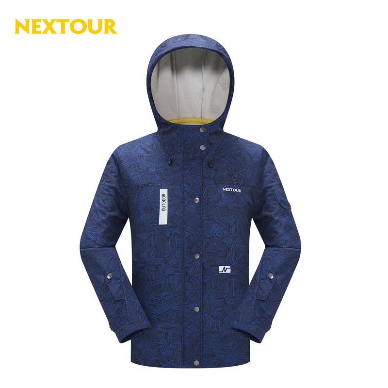 NEXTOUR Outdoor Jacket Men Softshell Jacket Waterproof Windproof sherpa fleece  Coats Hunting Hiking Hooded Winter clothes стоимость