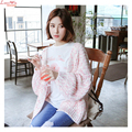 Coloured Thread Weatern Style Brand Casual Cardigans Dropped Shoulder Women Popular Autumn Sweater Outer Cheap Price