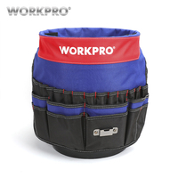 WORKPRO 5 Gallon Bucket Tool Organizer Bucket Boss Tool Bag