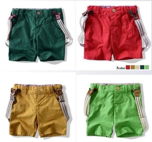 Niños de bebé de algodón del color del caramelo pantalones cortos de la  liga de 2 182fa1716eb