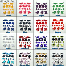 ChengHaoRan Full Button Sets Mod D pad ABXY Trigger LB RB LT RT Thumbstick Parts for Microsoft Xbox One Controller Chrome Solid