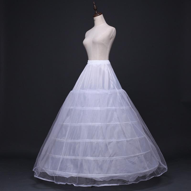 c63b2580 Cheap Enaguas para Vestido de novia 6 aros Enaguas Quinceañera Vestido de  fiesta Crinoline Vestido de