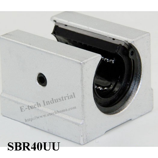 все цены на  2pcs/Lot Linear Slider Linear Bearing Block SBR40UU CNC Router  онлайн