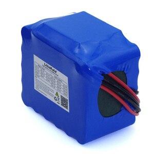 Image 3 - LiitoKala 12V 20Ah haute puissance 100A décharge batterie pack BMS protection 4 ligne sortie 500W 800W 18650 batterie + 12.6V 3A chargeur
