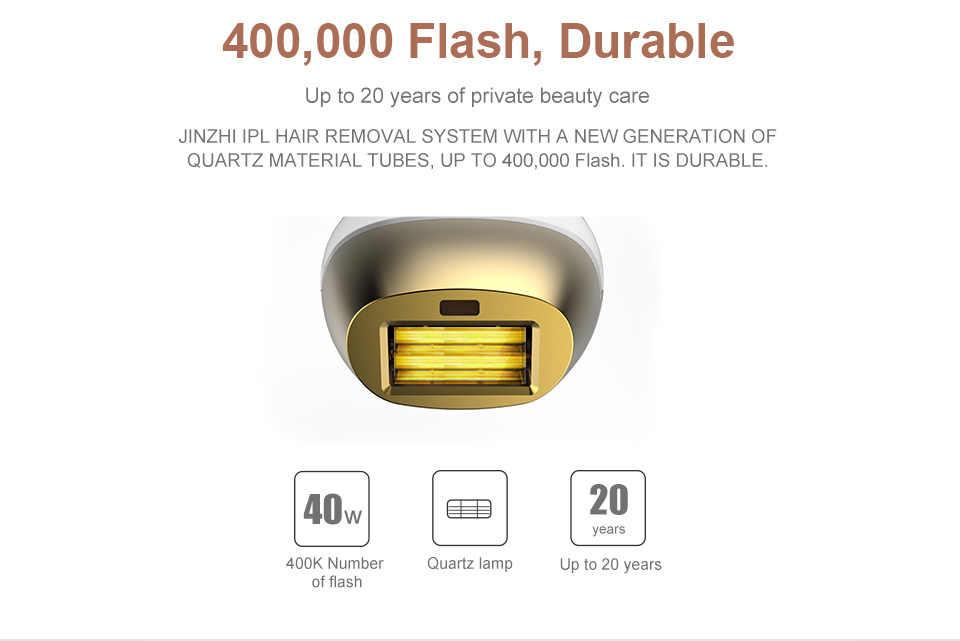 IPL Epilatore Epilatore laser di Rimozione Permanente Dei Capelli LCD Touch Display depilador un laser Bikini Trimmer Photoepilator