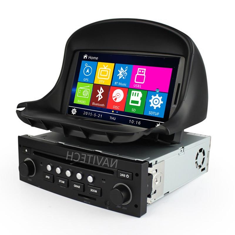 font b Car b font DVD Player GPS for Peugeot 206 1998 2000 2001 2002