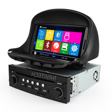 Coches Reproductor de DVD GPS para Peugeot 206 1998 2000 2001 2002 2003 2004 2005 2006 a 2009 con GPS AM FM RDS Can Bus