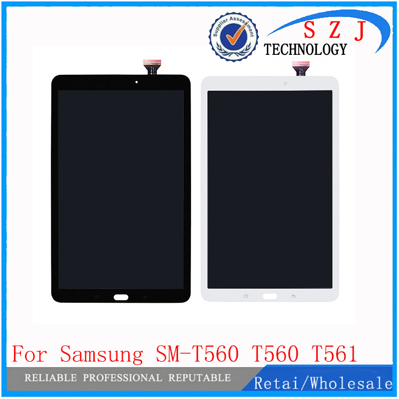 For Samsung TabE 9.6 T560 T561 Black Touch Screen Display no glue No sticker
