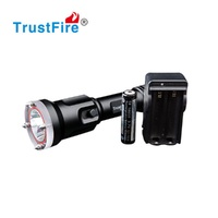 TrustFire DF006 XML 2 LED Diving Flashlight Waterproof Underwater 100 meters 650LM powerful dive light 18650 Torch Lamp