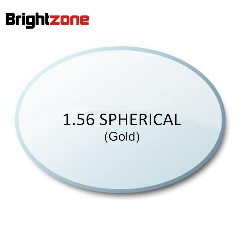 High Quality Rx Lenses1 56 Super thin HC gold UV AR CR 39 resin eyeglasses prescription
