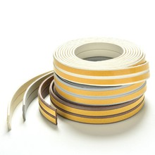 5m I Type Doors and for Windows Foam Seal Strip Soundproofing Collision Avoidance Rubber Seal Collision