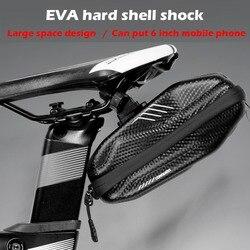 Wild Man wodoodporna EVA twarda osłona 0.8L torba na rower pod siedzeniem rowerowa torba pod siodełko Road MTB odporna na wstrząsy kieszeń na rower akcesoria w Torby i sakwy rowerowe od Sport i rozrywka na