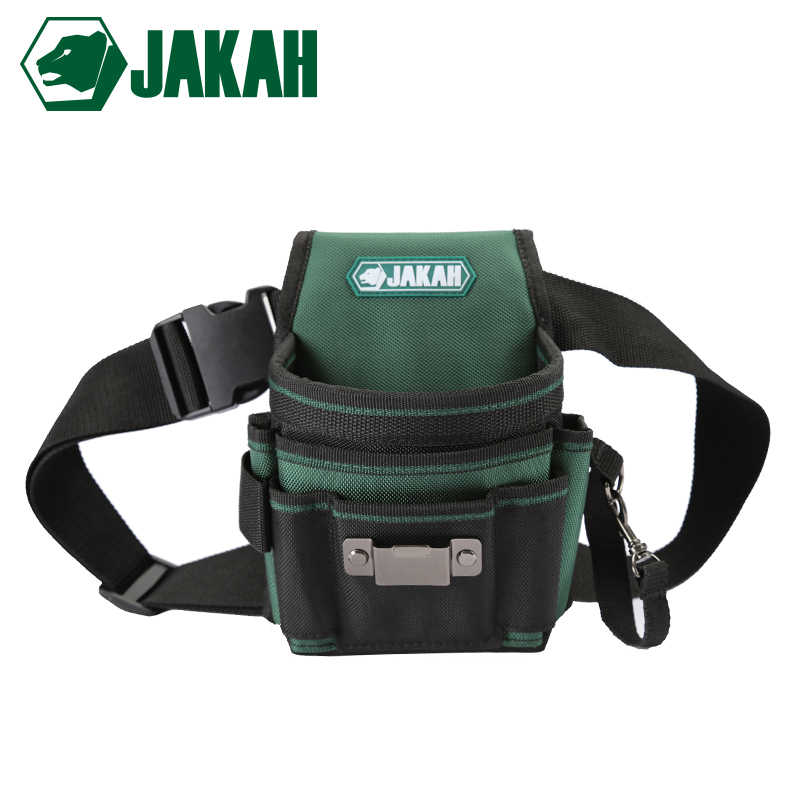 JAKAH JK-020 2019 New Electrician Waist Tool Bag Belt Tool Pouch Utility Kits Holder With Pockets For Gardening  Free Shipping