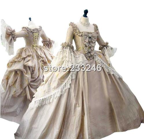 Custom Made Victorian Era Dress Gothic Period Gown Wedding Reenactment Theatre Clothing Renaissance Medieval Costume