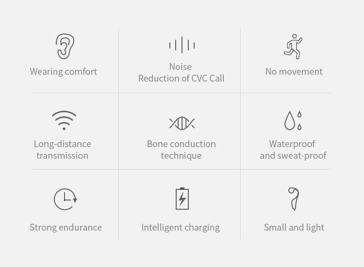 50% OFF V9 Headphones Bluetooth 5.0 Bone Conduction
