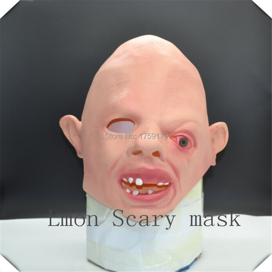 Latex Superman Cosplay Sloth Goonies Mask Halloween Horror Sloth ...
