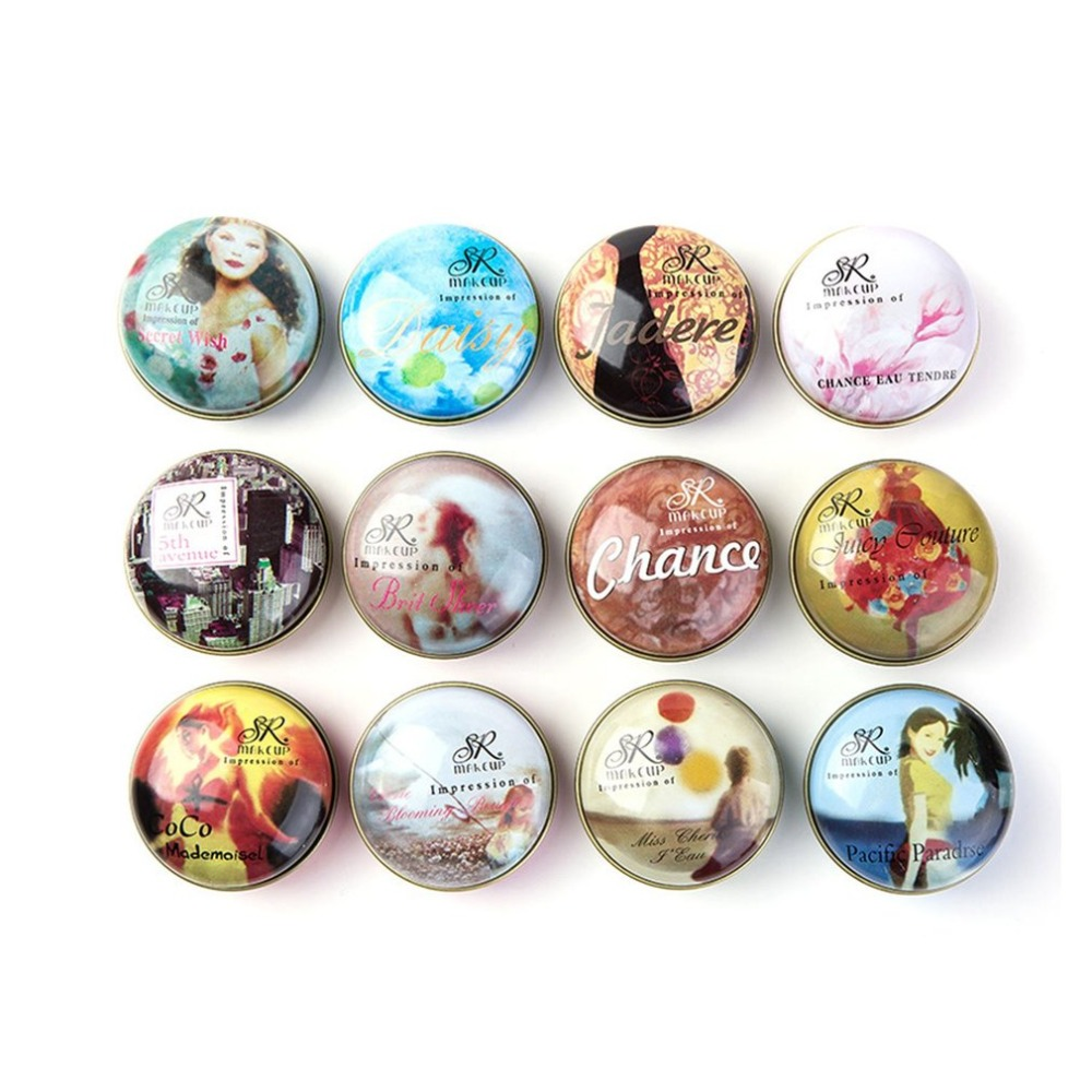 Small Size Portable Solid Perfumes Fragr