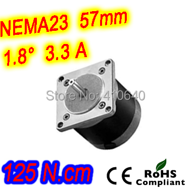 цена на Round shape 10 pieces per lot step motor 23HR30-3304S L 76 mm Nema 23 with 1.8 deg 3.3 A 125 N.cm and bipolar 4 lead wires
