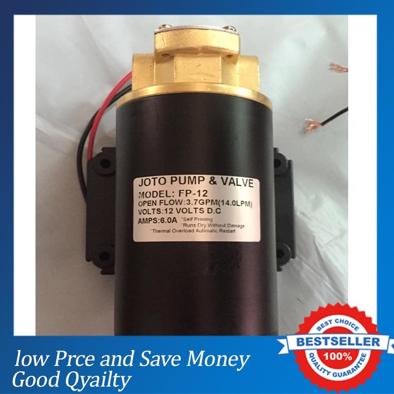 DC Small Portable Gear Heavy Fuel Diesel Oil Transfer Pump 12V Electric 14L/min Marine Gear Oil Pump