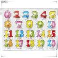 30 СМ Детей Раннего образовательные игрушки ребенок рука понимание деревянные игрушка-головоломка алфавита и цифры обучения образование ребенка деревянные головоломки игрушка