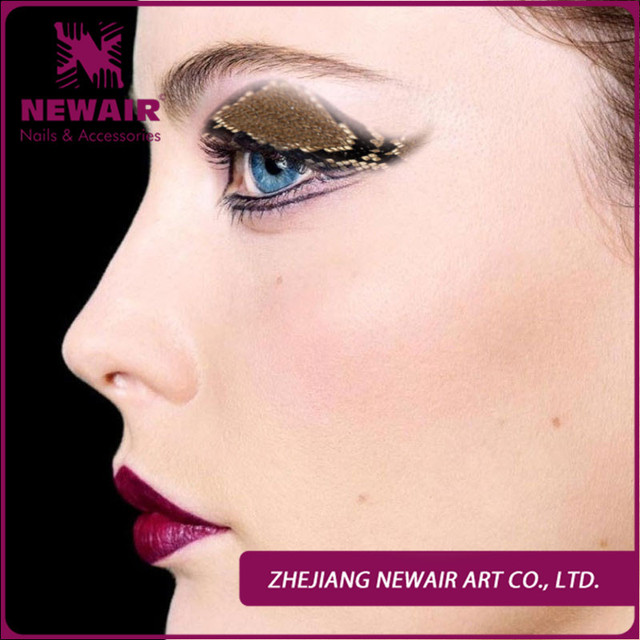 New Brand Fashion Dance Sexy Women Fake Eye Shadow Tattoo Sticker