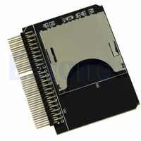 Carte mémoire SD/Micro sd à 2.5 lecteur adaptateur IDE 44pin pour ordinateur portable-L059 nouveau chaud