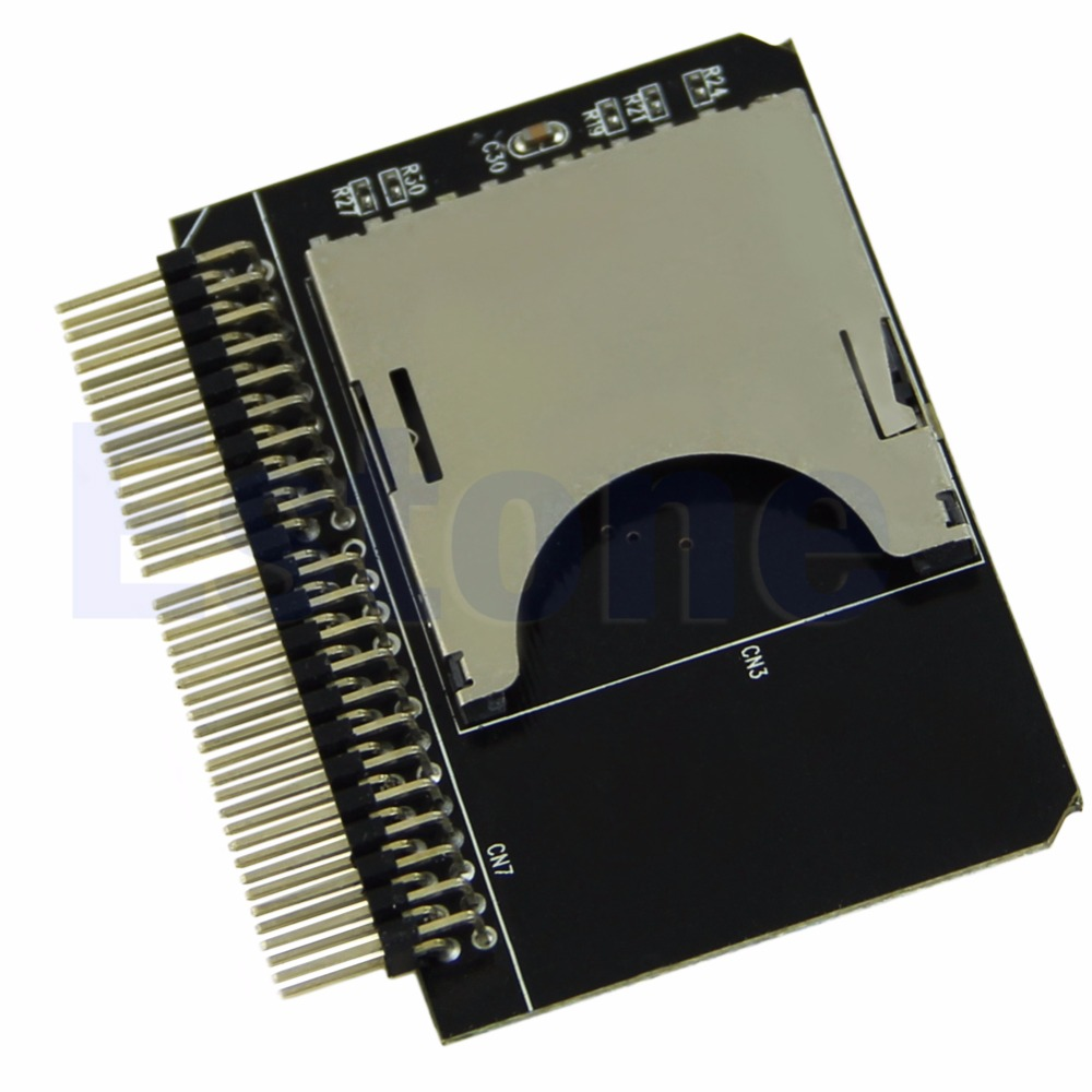 SD/Micro Sd Memory Card To 2.5 44pin IDE Adapter Reader For Laptop - L059 New Hot