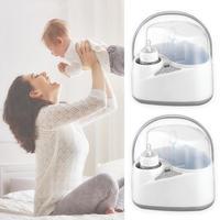 Portable Baby Bottle Sterilizer Milk Warmer Steam Food Breast Milk Heater