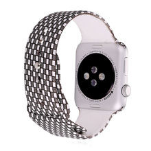Correa de Reloj de silicona Para Applewatch 2/1 38 MM/42 MM Venda de Reloj de la Correa del Silicón de Los Hombres/de Las Mujeres 2016 nueva Correa Del Reloj APB2272