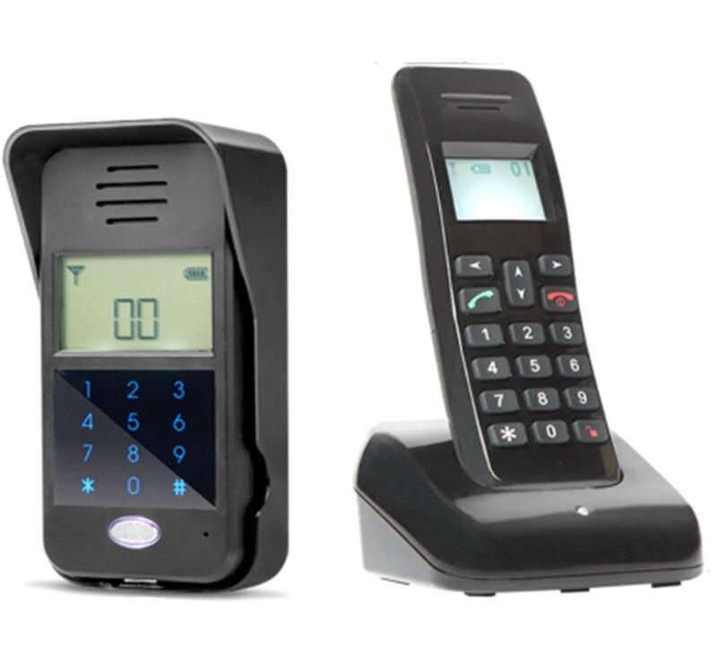 Купить с кэшбэком 2.4G Wireless Two Way   Intercom Door Phone