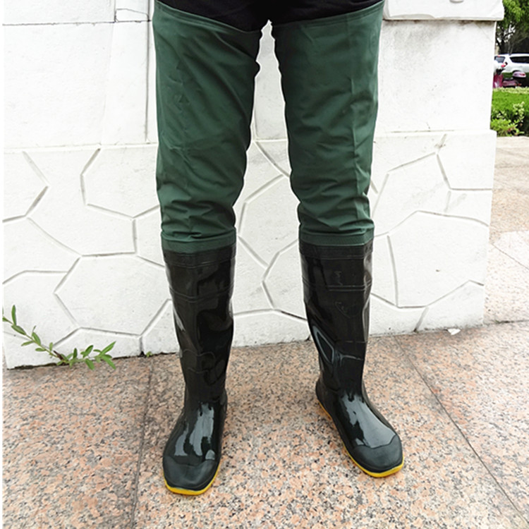 Fishing waders men and women boots shoes rubber water for Womens fishing boots