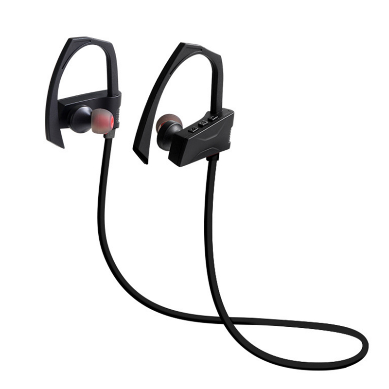 N2 Sports Wireless Bluetooth Earphone Earhook Running Fitness bicycle Headset Stereo Bass Earbuds with mic connecting two phones 2018 zealot h6 wireless bluetooth headphones stereo bass headset sports running earphone earbuds with mic for exercise fitness