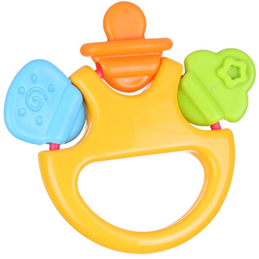 Plastic Children Baby Toys Kids Teether Rattle Toy Pram Fun Baby Toys Educational 0-12 Months For Newborns Girls Boys 70C0341