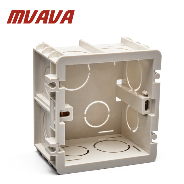 Mvava plastic wall plate wall mount junction box type 86 switch mvava plastic wall plate wall mount junction box type 86 switch cassette outlet wall switch box sciox Choice Image