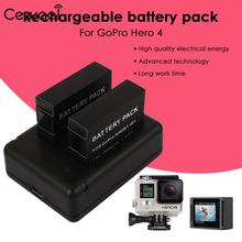 Compact Camera Battery Pack Lithium Battery Camera Rechargeable Battery 2x 1600mAh for AHDBT 401 USB Charger