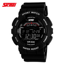 Relogio Masculino Mens Sports Watches Men Digital Led WristWatches Relojes Shockproof Electronic Wristwatches Skmei 2016