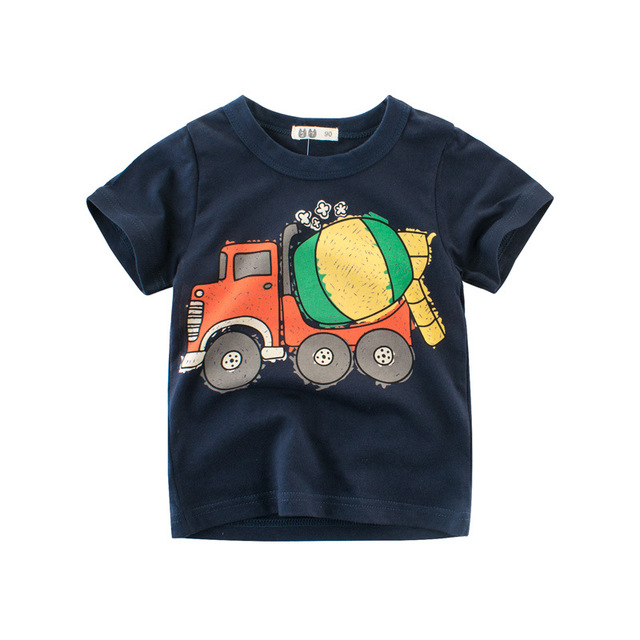 Soft Summer Printed Boy's T-Shirts