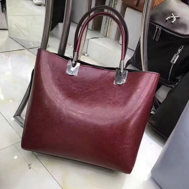 2018 Interior Compartment Women Hot Sale New Ladies Bag Large Capacity Tote Handbag Shoulder European And American Bucket Big yuanyu 2018 new hot free shipping real thai crocodile women clutches dinner long women wallet large capacity women bag