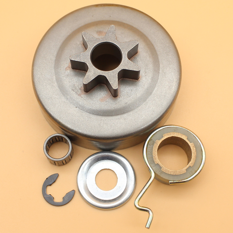 ".325"" 7T Clutch Drum Bell Worm Gear Washer Kit For STIHL MS250 MS230 MS210 MS 250 230 210 025 023 021 Chainsaw Parts