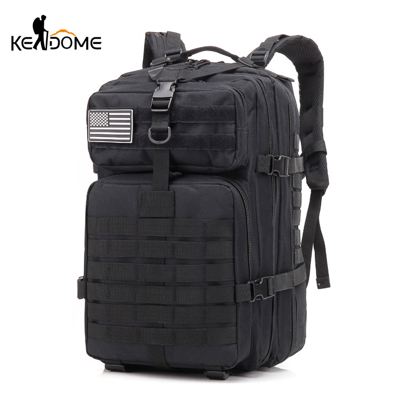 2019 40L Military Tactical Assault Pack Backpack Army Waterproof Bag Small Rucksack for Outdoor Hiking Camping