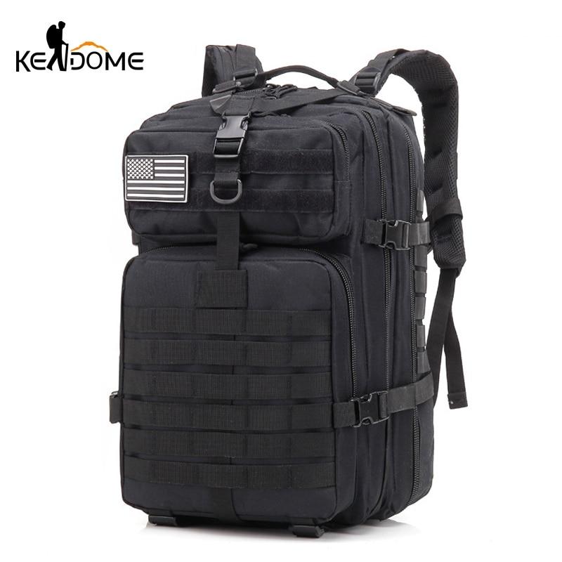 2019 40L militaire tactique assaut Pack sac à dos armée sac étanche petit sac à dos pour la randonnée en plein air Camping chasse XA914WD