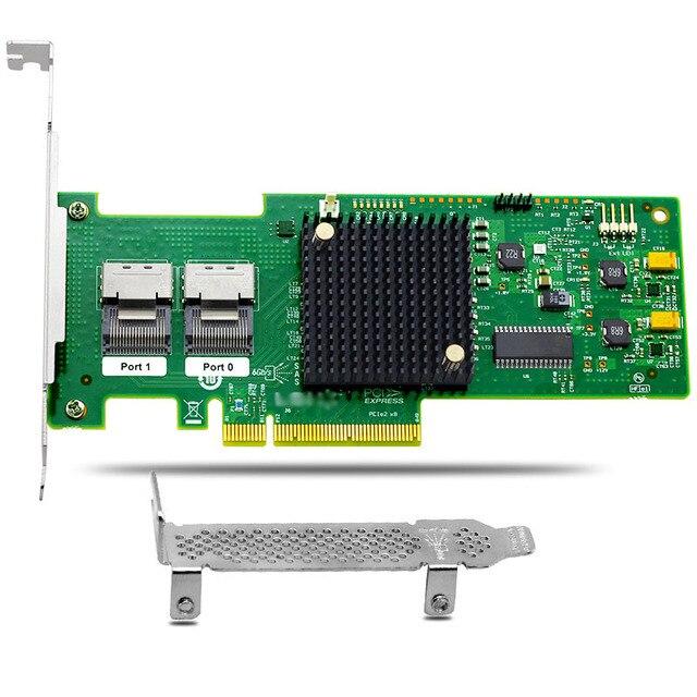 8 Port SAS PCIe Raid Controller Card MegaRAID 9240 8i for Server Max