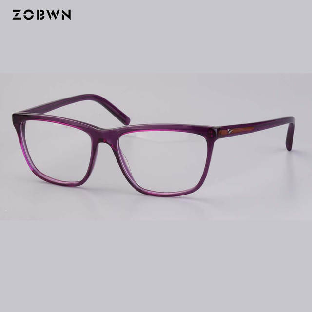 7f8a3f2fce18d placeholder 2018 Women fashion red purple Glasses Frame Vintage Optical  Myopia Designer cat Eye glasses Frame Prescription