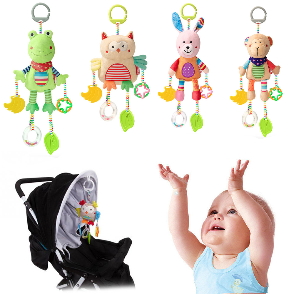 Newborn Baby Hanging Toys 0-12 Months Baby Rattle Toddler Toys Baby Mobile Crib Learning Educational Toy For Baby Bed Stroller
