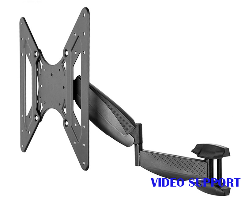 Full Motion TV Bracket Adjustable Retractable Rotating of Intelligent LCD Mount Wall Stand Wall TV Mount TV Arm lcd bracket tv mount wall mount wall stand adjustable mount arm fit for 26 50 max support 40kg can swing left and right page 9