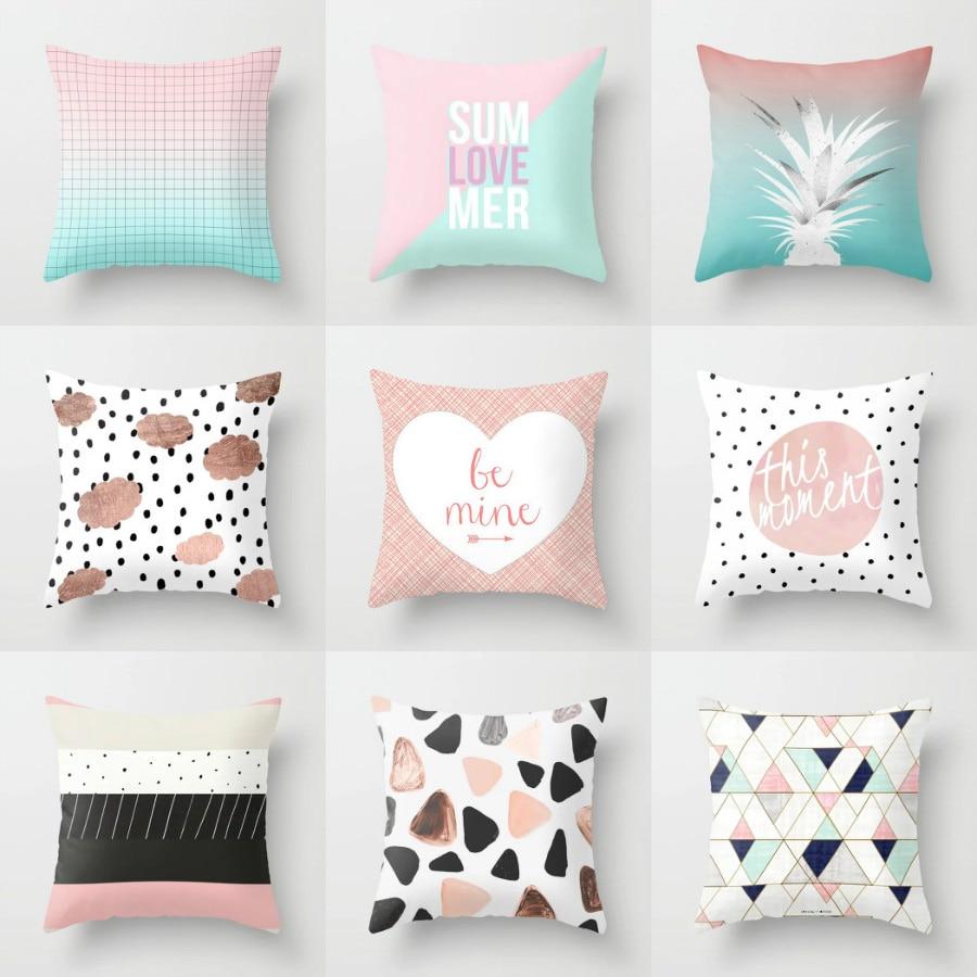 Elife Nordic Cartoon Animal Baby Cushion Cover Polyester Home Decor Bedroom Decorative Sofa Car Throw Pillows Case 45x45CM