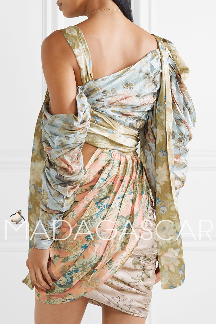Pre-sale ~ 30 days can accept the purchase ~ mini silk dress quality dress 5