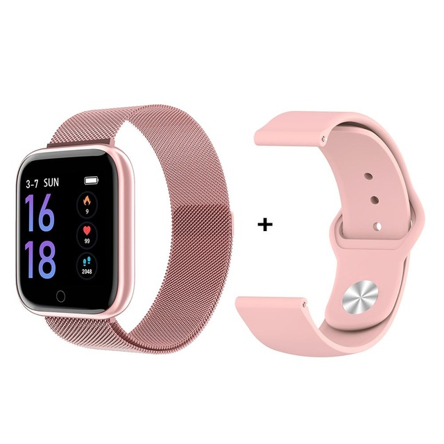 Women Smart Watch P70 P68 Plus Bluetooth Waterproof Men Smartwatch For Apple IPhone Xiaomi Heart Rate Monitor Fitness Tracker 5